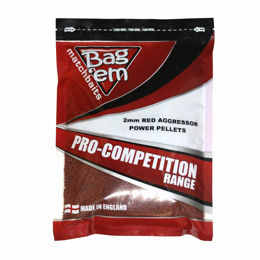 Red Aggressor 2mm Power Pellets