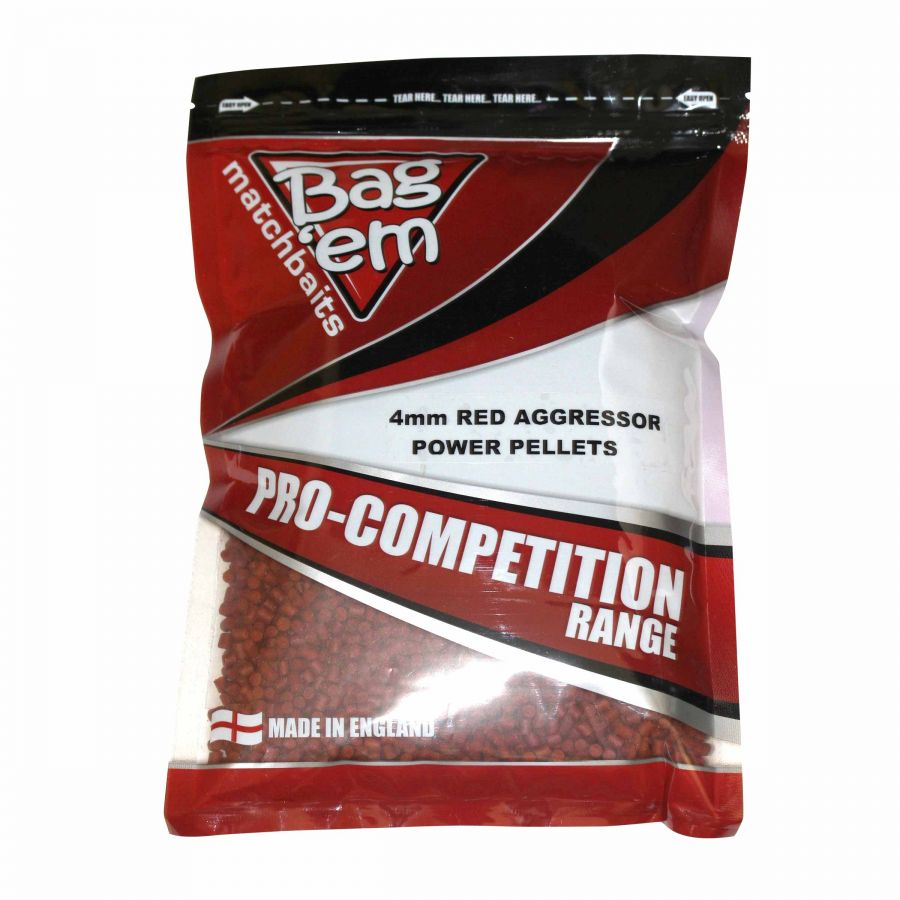 Red Aggressor 4mm Power Pellets