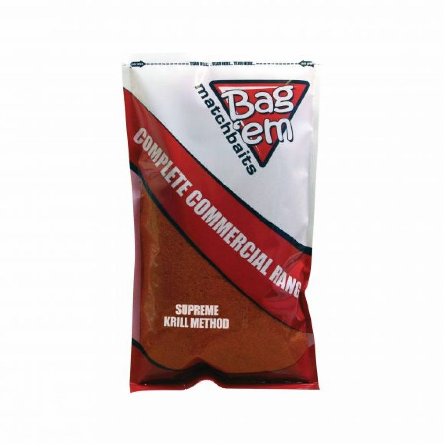 Complete Commercial Groundbait Supreme Krill Method