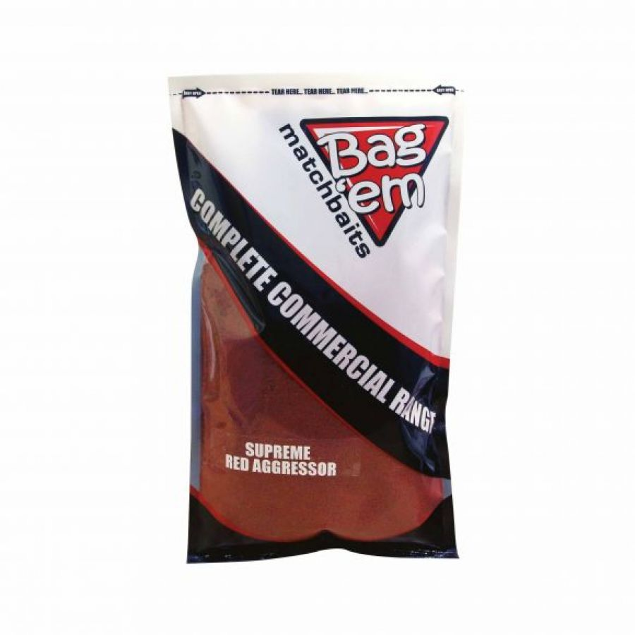 Complete Commercial Groundbait Supreme Red Aggressor