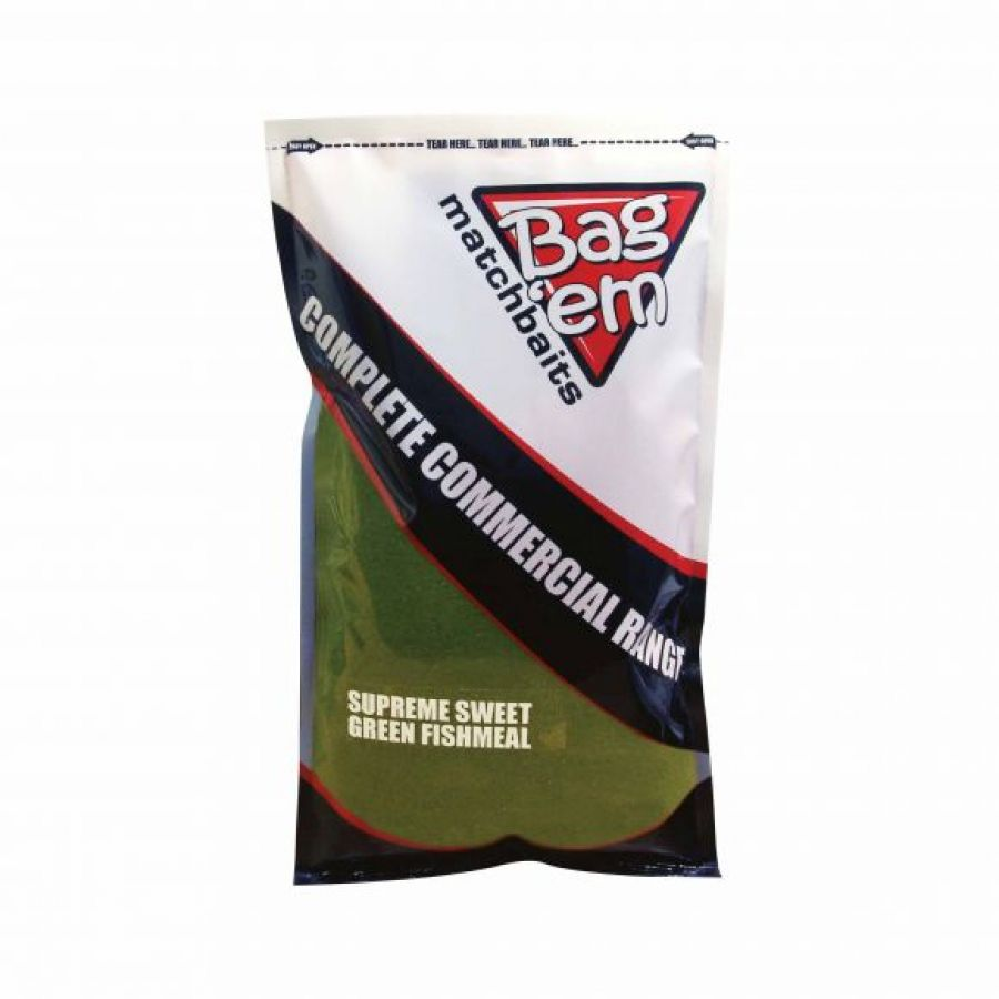 Complete Commercial Groundbait Supreme Sweet Green Fishmeal
